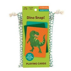 Mudpuppy Playing Cards - Dino Snap