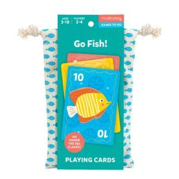 Mudpuppy Playing Cards - Go Fish