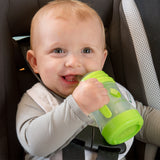 Green Sprouts Glass Sip & Straw Cup 6mo+ - Light Lime