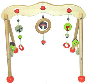 Discoveroo Wooden Baby Play Gym - Woodland Adventure