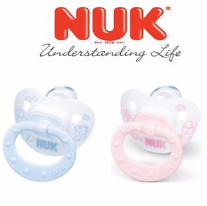 Nuk Orthodontic Soother 0-6 months