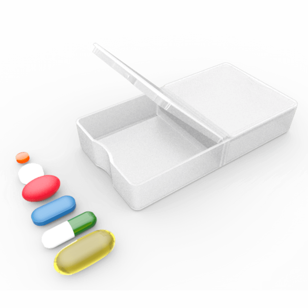 pill compartment custom organizer