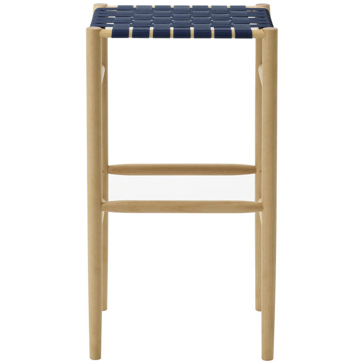 Lightwood Bar Stool - Mesh / Webb Seat - atomi shop