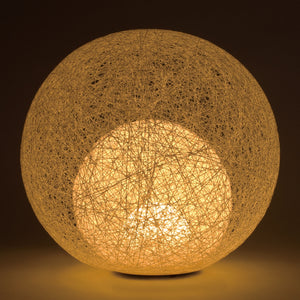 Handmade in Japan Paper Thread Adjustable LED Light