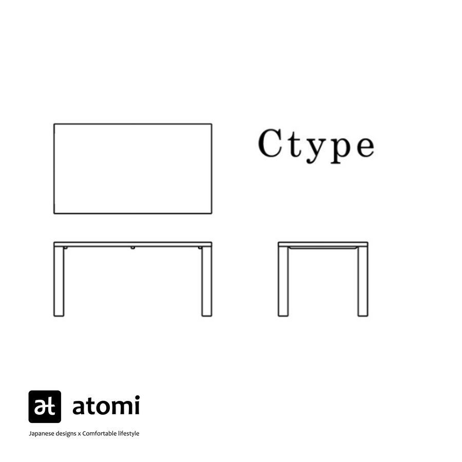Forms C-Type Table - atomi shop