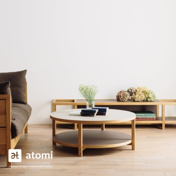 CORNICE Coffee Table with Linoleum - atomi shop