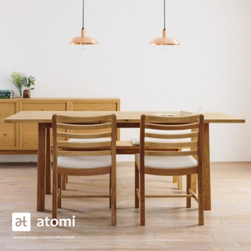 CORNICE Slit Dining Table - atomi shop