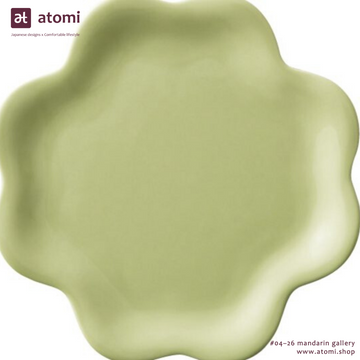Ceramic Classic Leaf and Heart Plates - atomi shop
