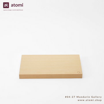 Natural Japanese Hiba Cutting Board - atomi shop