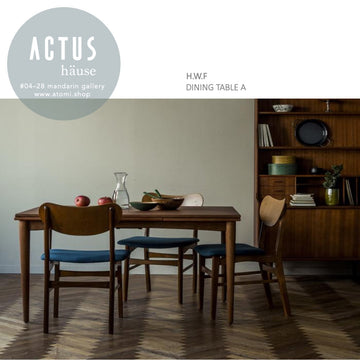 H.W.F. Dining Table A - atomi shop