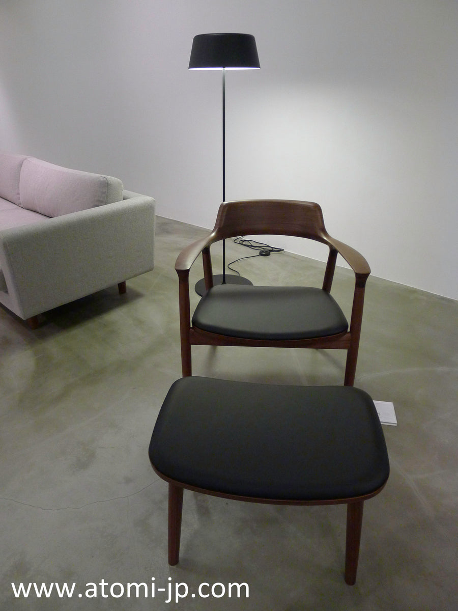 Hiroshima Lounge Chair- Leather - atomi shop