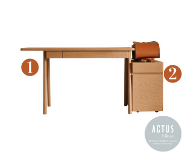 Sarcle Series - Recommended Basic Set (Desk and Desk Chest) - atomi shop