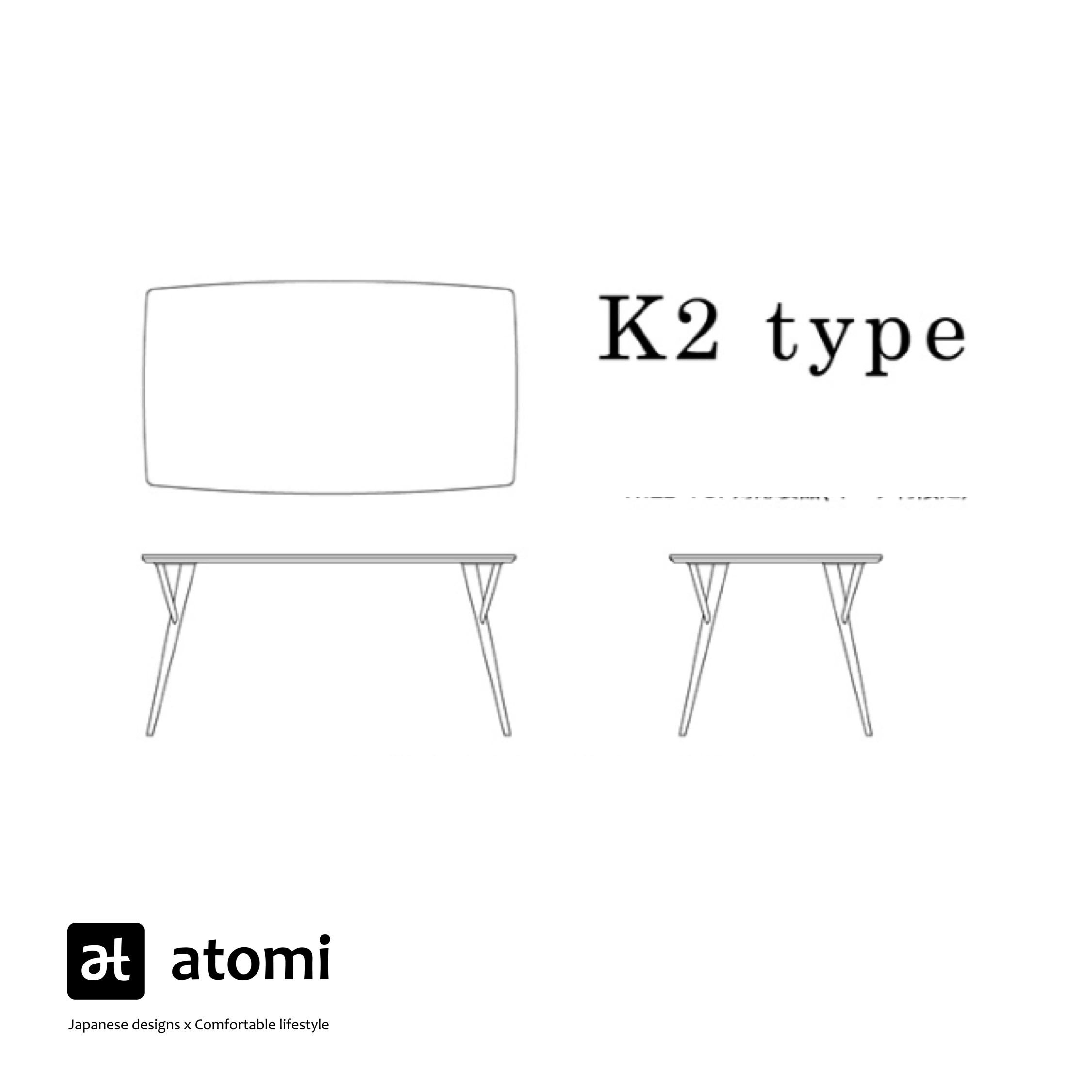 Forms K2-Type Table