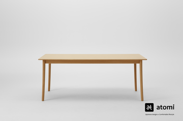 Lightwood 2200 DIning Table - atomi shop