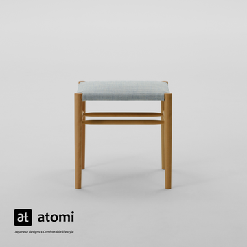 Lightwood Stool - Low - atomi shop