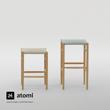 Lightwood Stool - Mid - atomi shop
