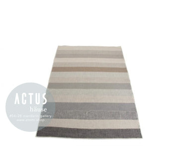 Mixed Colour Stripes Rug - atomi shop