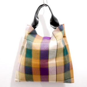 Chequered Bag (Olive)