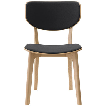 Roundish Chair - Cushioned Dining Chair