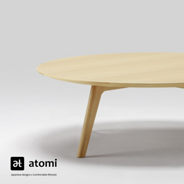 Roundish Coffee Table - atomi shop