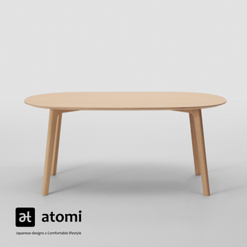 Roundish Dining Table - atomi shop