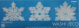 Washi Deco Snow Flake (M)