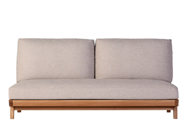 Whitewood Elbowless Sofa - atomi shop