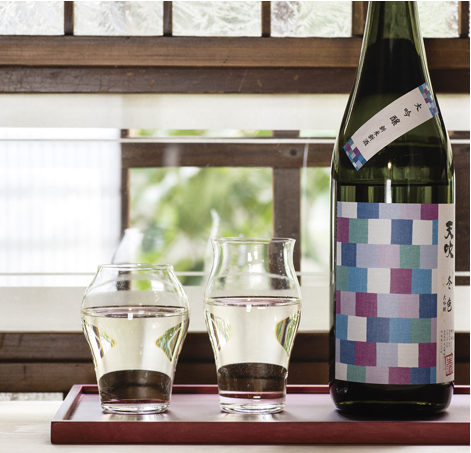 Sake Glass Set for Junmai-shu & Junmai Daiginjo - atomi shop