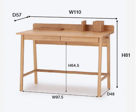 Theo Series - Desk - atomi shop