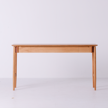 White Wood Study Desk