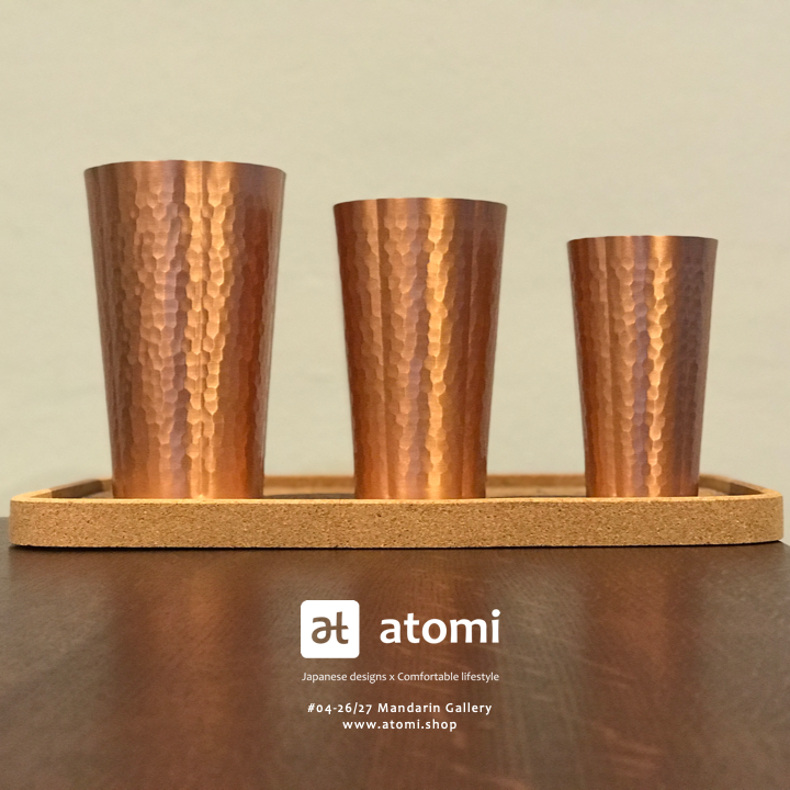 Sakura Copper Cups