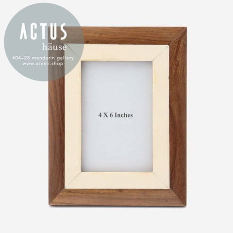 Wooden Resin Frame