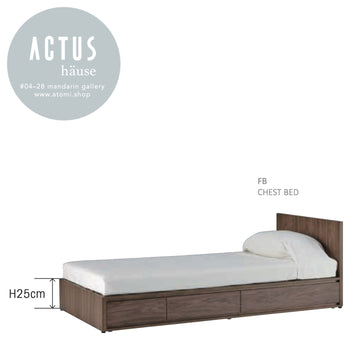 FB Chest Bed (Single with Storage) - atomi shop