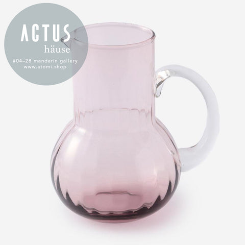 Eastern Glass Optic Jug