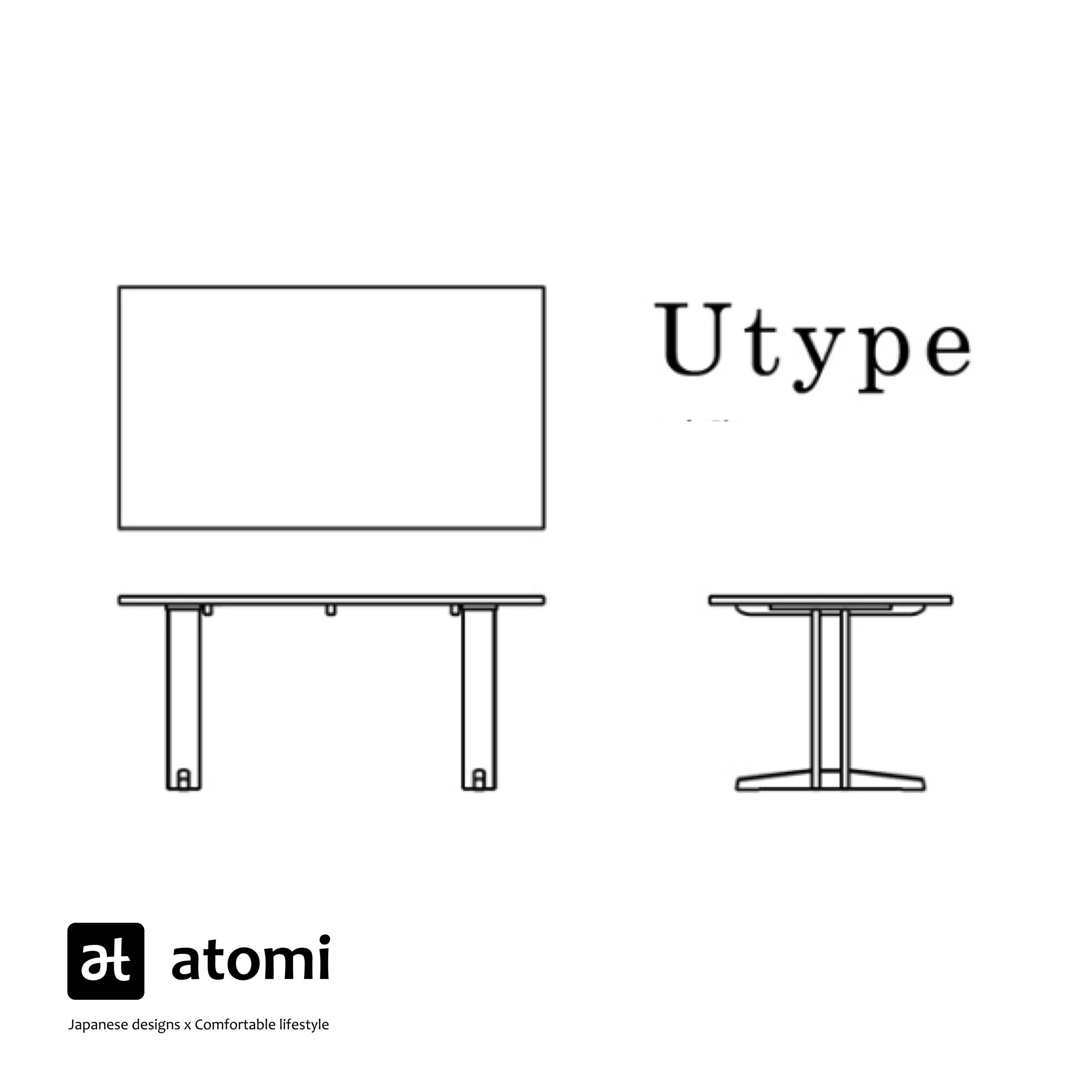 Forms U-Type Table