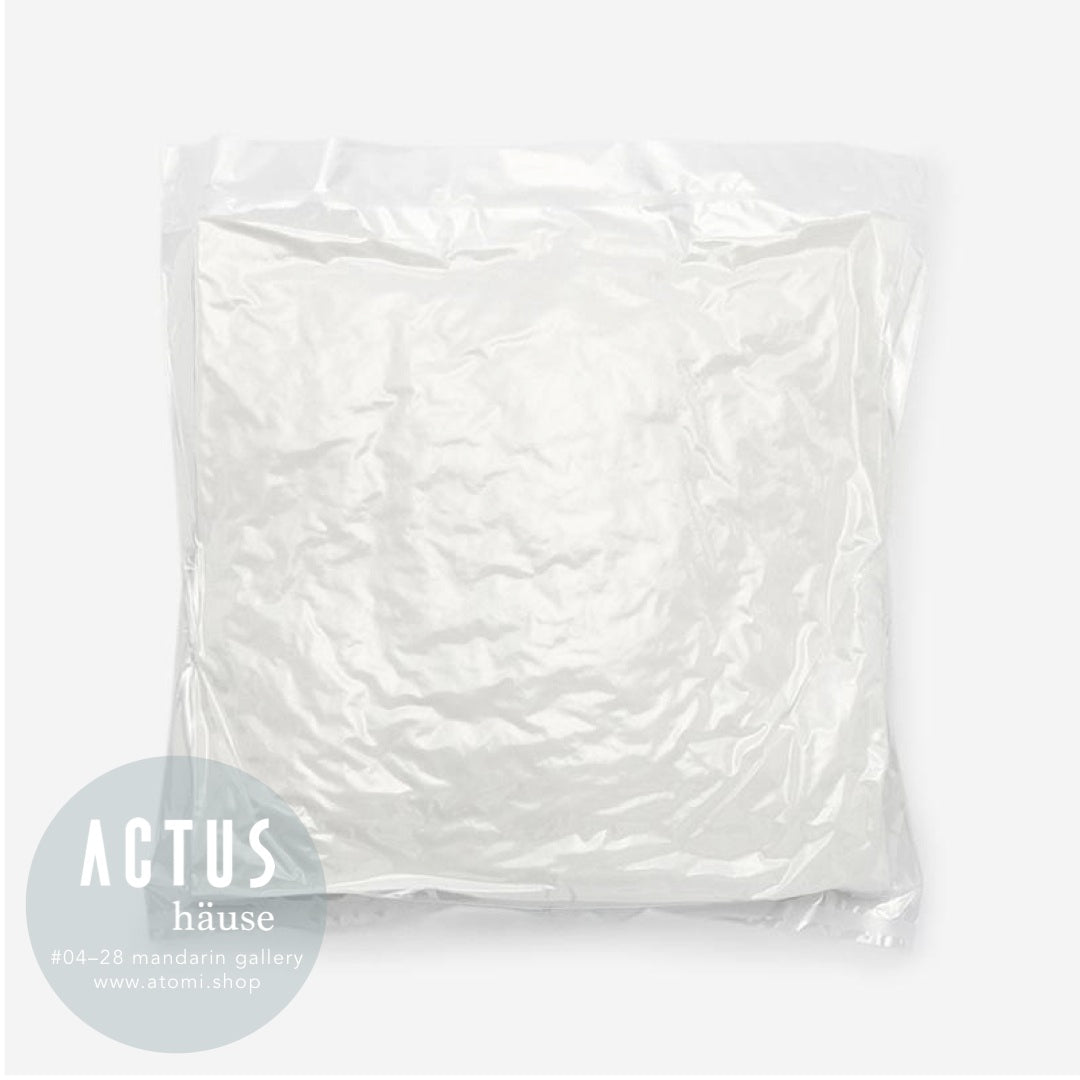 Vacuum White Cushion