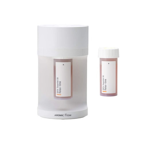 Aromic Flow Diffuser and 2 Essential Oil Set - atomi shop