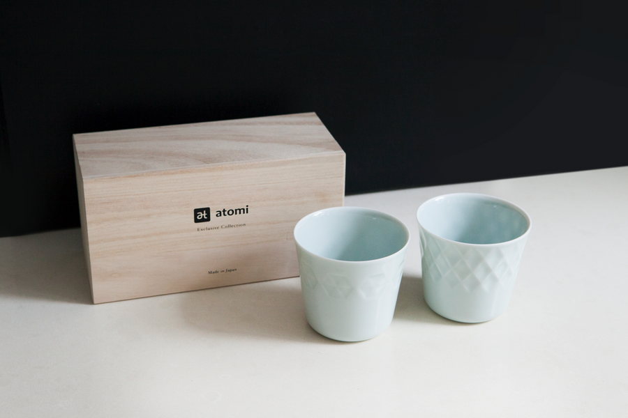 Exclusive Ceramic Tea Cup Set - atomi shop