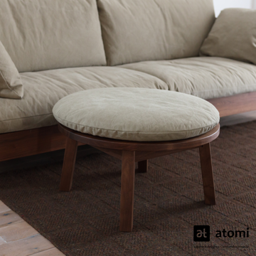 CORNICE Ottoman / Side Table - atomi shop