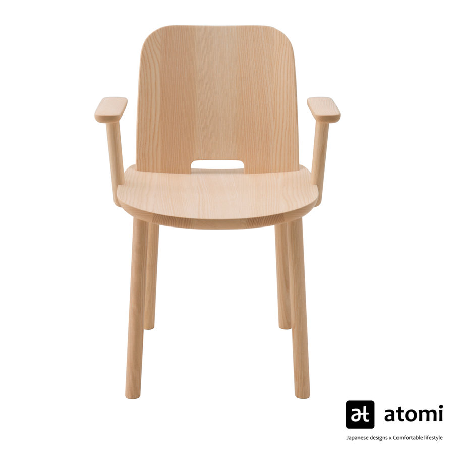 Fugu Dining Arm Chair - atomi shop