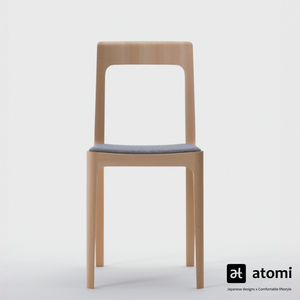 Hiroshima Armless Chair - Fabric