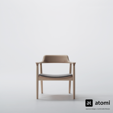 Hiroshima Lounge Chair- Fabric - atomi shop