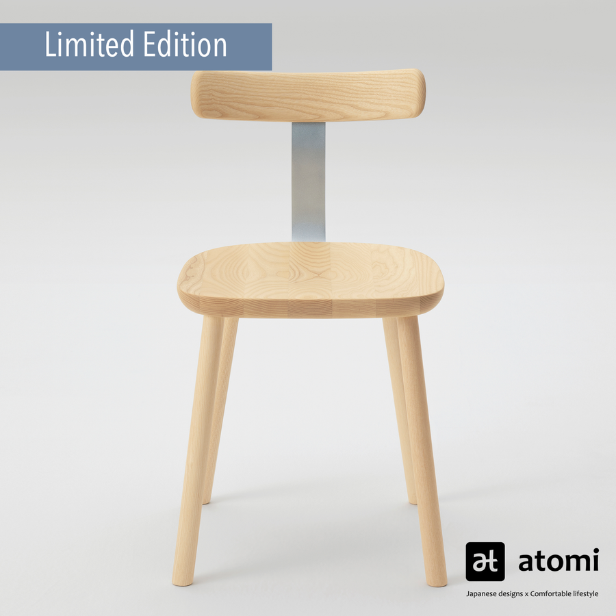T-Chair (Limited Edition Silver Steel) - atomi shop