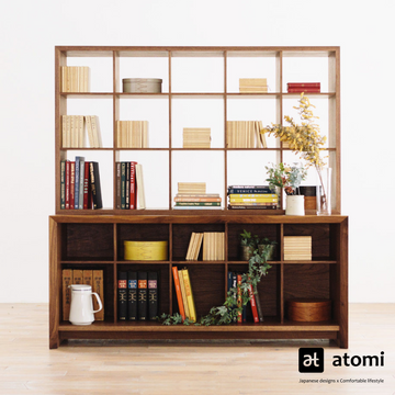AMICO Bookshelf (No Back) - atomi shop