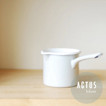 Ouur Enamel Milk Pot - atomi shop