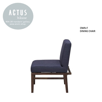OWN-F Dining Chair - Wooden legs - atomi shop
