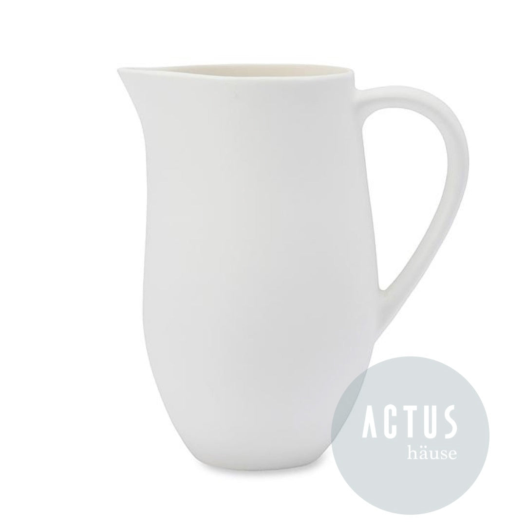 Ouur White Pitcher with Handle