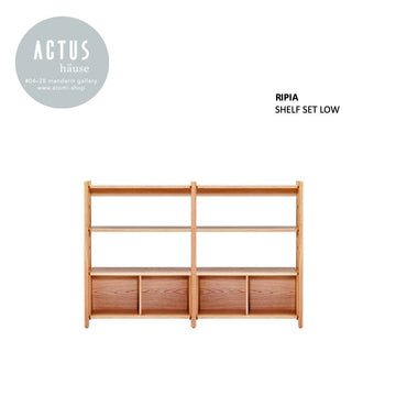 RIPIA Low Shelf Set - atomi shop