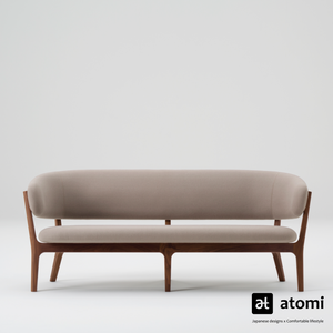 Roundish Sofa | Two Seater