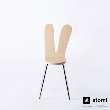 SANAA Armless Chair- Natural - atomi shop